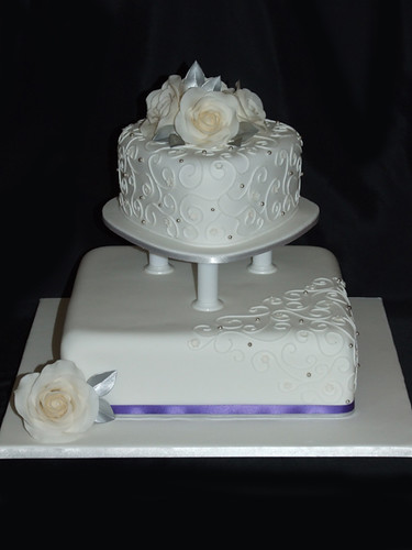 Kristy's Wedding Cake