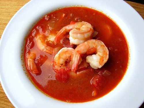 Shrimp & Chorizo Soup