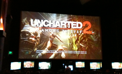 UNCHARTED 2: Among Thieves Cinema Event 1