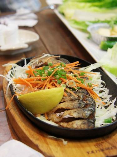 Fried Saba Fish
