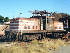 FPM148 Locomotiva Fepasa 6511 (Fernando Picarelli Martins) Tags: generalelectric ferrovia fepasa locomotiva cpef jundiaísp companhiapaulistadeestradasdeferro locomotivaelétrica manobreira ferroviapaulistasa classebb importação1947