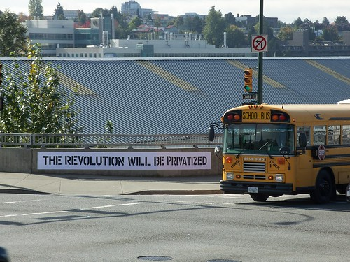 the revolution will be privatized
