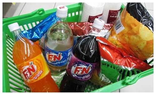 F&N shopping 4