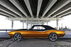 Camaro (DiGitALGoLD) Tags: bridge chevrolet florida miami camaro chevy brickell underthebridge carpics rickenbackercauseway custompaintjob 1968camaro worldcars nikond3 digitalgold