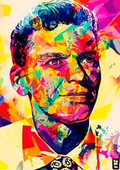 Sinatra (kaneda99) Tags: abstract color art colors illustration poster frank drawing voice hollywood singer buy sinatra franksinatra kaneda nosurprises thevoice kaneda99 abstractcolors alessandropautasso curioos
