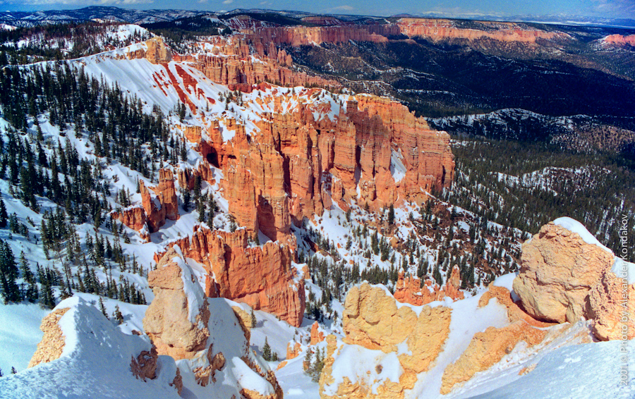 USA Bryce Canyon NP 2001 © Photo by Alexander Kondakov