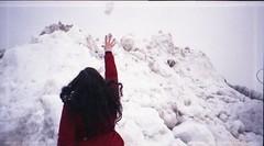 (Emily Savill) Tags: winter red snow film fashion analog hair other lomo lomography fuji action superia low small lofi samsung lo iso jacket 400 200 fujifilm format mindy fi analogue asa aps throw lowfi 2014 xtra nexia smallformat impax 200i