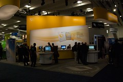 The Giant Microsoft Booth