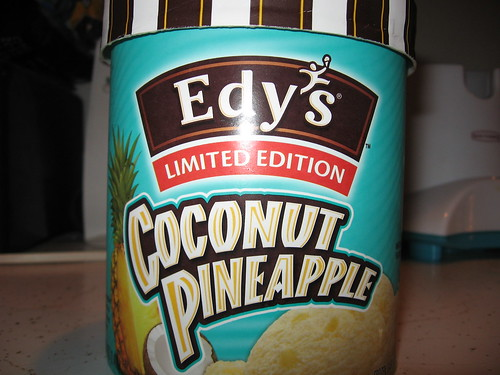 Coconut Pineapple Ice Cream