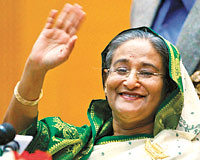 Madam Sheikh Hasina takes oath as the new Prime Minister of Bangladesh (South Asian Foreign Relations) Tags: new prime madam takes sheikh bangladesh minister oath hasina