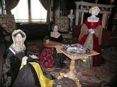 The First Three Wives of Henry VIII (zawtowers) Tags: county england castle town hall great central henry wives viii six warwick warwickshire midlands warwickcastle anneboleyn janeseymour catherineofaragon
