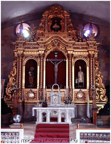 Miag-ao Church Altar