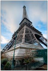Eiffel Tower - Paris HDR