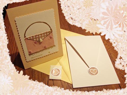 Pink-Handbag-paper-easel-set