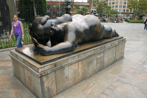 Fernando Botero's world-famous chubby sculptures