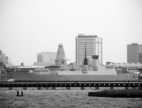 HMS Daring From Priddys Hard