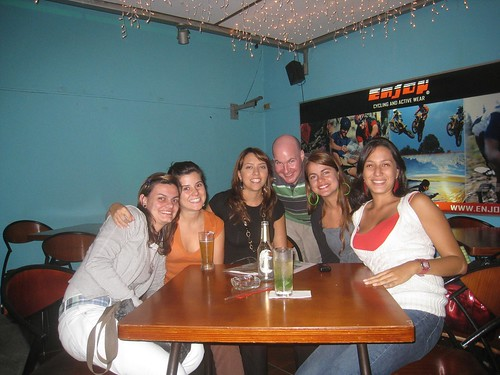 From right...Paola, Sirley, me, Natalia, Mary Luisa, and Catalina