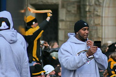Steelers Parade (Deepak & Sunitha) Tags: pittsburgh nfl super bowl victory parade title superbowl sixth celebrate 2009 steelers champions grantstreet gosteelers terribletowel herewego steelernation xliii sixburgh slashd