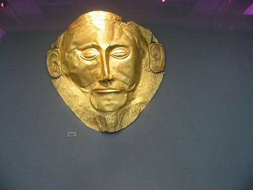 Gouden masker van Agamennon