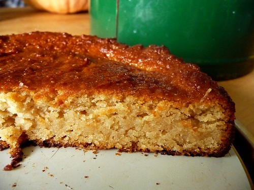 lemon almond cake iv