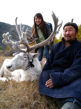 超美的蒙古雪鹿/世界那麼大櫻文