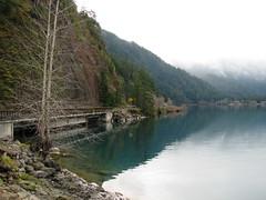 Crescent Lake (Redbeard Math Pirate) Tags: nationalpark olympicnationalpark crescentlake