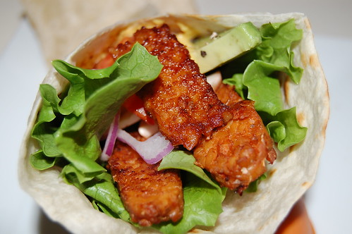 Tempeh Bacon Wrap