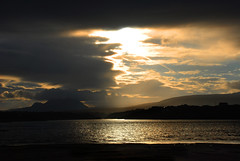 Morning has broken (Sandra O' Callaghan) Tags: morning ireland sea mountains sunrise solitude peace naturallight donegal fyv irishlight sandraocallaghancom