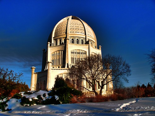 Wilmette Bahai'a Temple in HDR ver2 ( chicago )