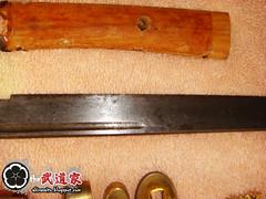 Lâmina - Shoto Antigo (antes)
