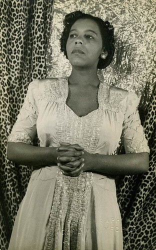 Portia White, 1944 | Flickr - Photo Sharing!