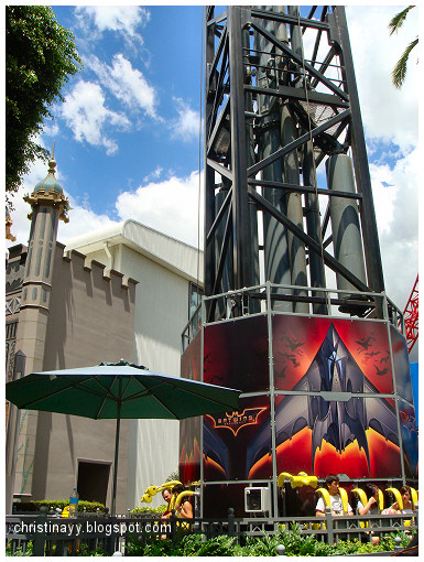 Warner Bros Movie World: Batwing Spaceshot