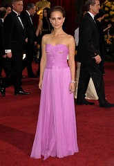 Actress Natalie Portman arrives at the 81st Annual Academy Award