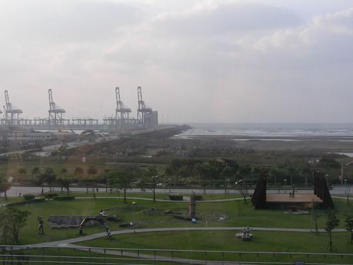 十三行博物館-俯視海景