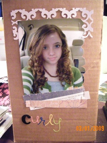 Curly scrapbook page by you.