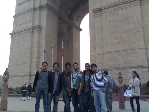 At India Gate