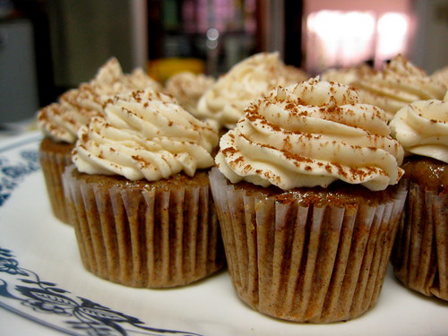 These chai latte cupcakes will make you sing.