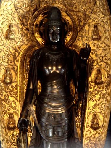 White gold Buddha