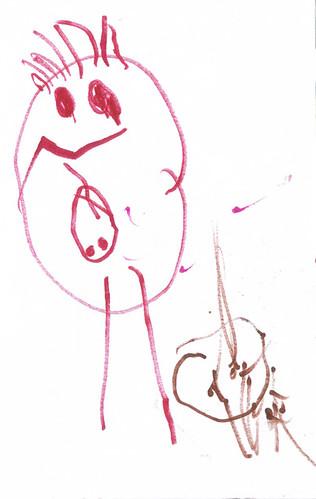mummy + baby. by Daisy
