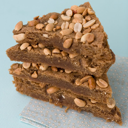 Peanut Butter Blondie