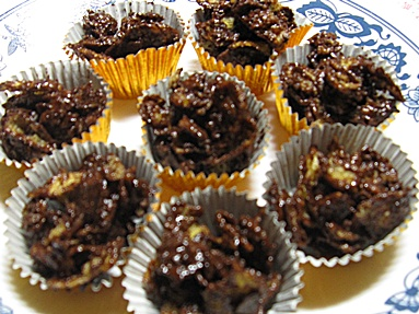 Chocolate Cornflake Treats