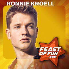 Ronnie Kroell talks about his career on the Feast of Fun podcast