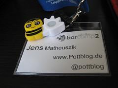 Mein Poken auf dem BarCampRuhr 2