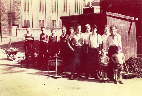 Road Squad, Golspie St., Govan, 1961.