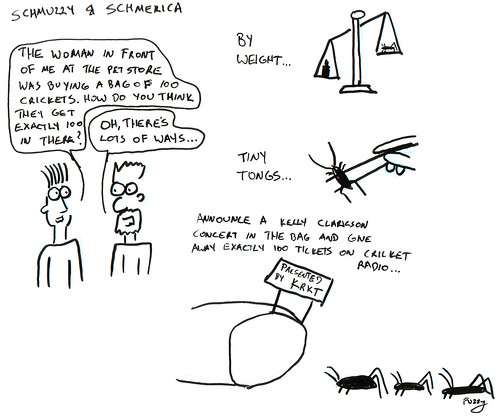 366 Cartoons - 155 - Schmuzzy and Schmerica