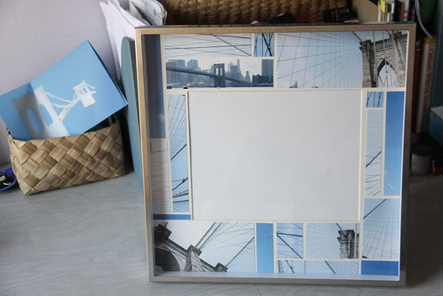 brooklyn bridge collage frame