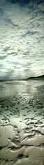 God and I were together (viacreativa) Tags: light sky beach vertical wales clouds happy alone dunes cymru together shore soul balance ripples panaramic bookmark dovey panarama gwynedd heavensgate macrel aberdyfi dyfi perfectplace amazingwhatyoucandowithamobilephone timealonetolistenandbe