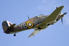 LF363 - Battle Of Britain Memorial Flight - Royal Air Force - Hawker Hurricane Mk2C - 090704 - Waddington - Steven Gray - IMG_8845
