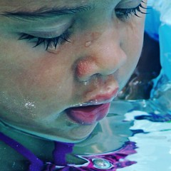 Sense of Blue (Michelle Brea) Tags: blue portrait baby art water girl face photography moments child artistic capture feelings michellebrea bestimagesoftheweek photodistorzija4