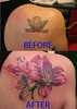 tattoo cover up with lily by MIrek vel Stotker
